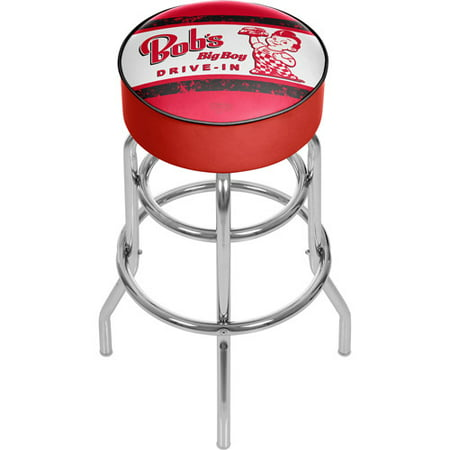 Tremendous Bobs Big Boy Vintage Padded Swivel Bar Stool Creativecarmelina Interior Chair Design Creativecarmelinacom