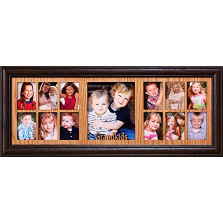 7x20 Grandkids Collage Picture Frame Gift For Grandma