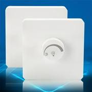 Willstar 220V Adjustable Controller LED Dimmer Switch For Dimmable Light Bulb Lamp