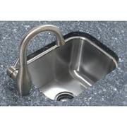 A-Line by Advance Tabco 12.5'' L x 16.5'' W Single Bowl Undermount Prep Kitchen Sink