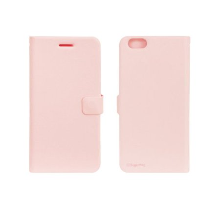 HAPPYMORI Daily Dream Faux Leather Case for Apple iPhone 6 Plus, Pink ()