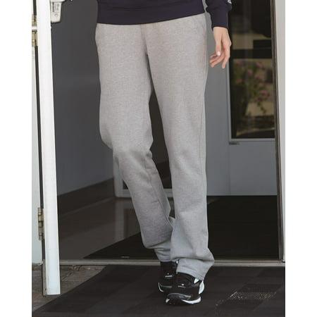 Russell Athletic Women's Lightweight Open Bottom Sweatpants
