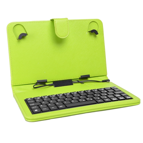 "Digital2 ACK700A Up to 7"" Android Tablet Slim Case Cover with Micro USB Keyboard"
