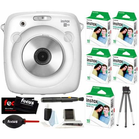 Fujifilm Instax Share Sp 3 Smartphone Printer  Black   W Sq10 Film Kit