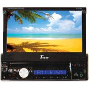 "Tview D76TSB 7"" Indash Single Din Receiver Bluetooth Mp3/cd Usb/sd Remote"