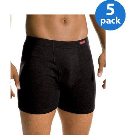 Hanes Mens Freshiq Comfortsoft Waistband Camo Boxer Brief 5 Pack