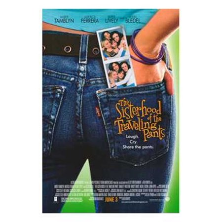 The Sisterhood Of The Traveling Pants Movie Poster  11 X 17