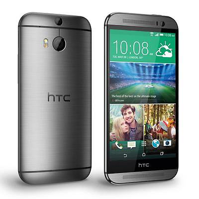 Used  Good Condition  Htc One M8 32Gb Gunmetal Gray Gsm Unlocked 4G Lte Smartphone