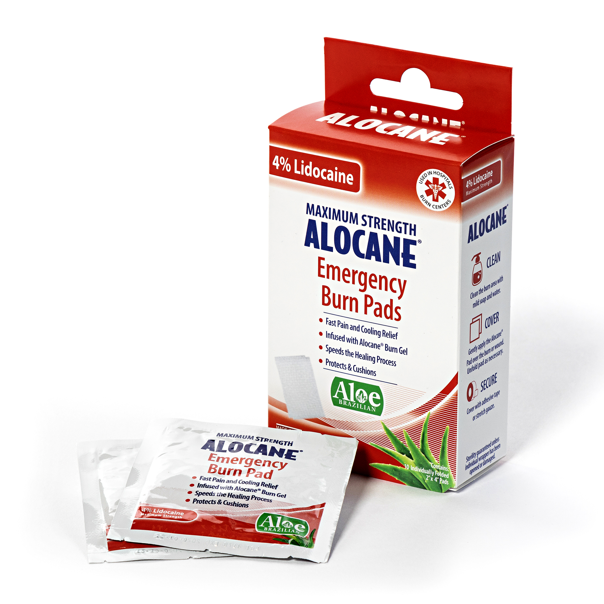 Emergency Burn Alocane Burn Pads