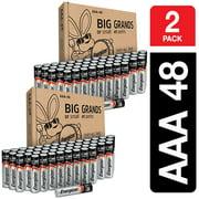 Energizer Max Powerseal Alkaline AAA Batteries, 96 Count (2 x 48 Packs)