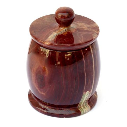Nature Home Decor Onyx Decorative Jar