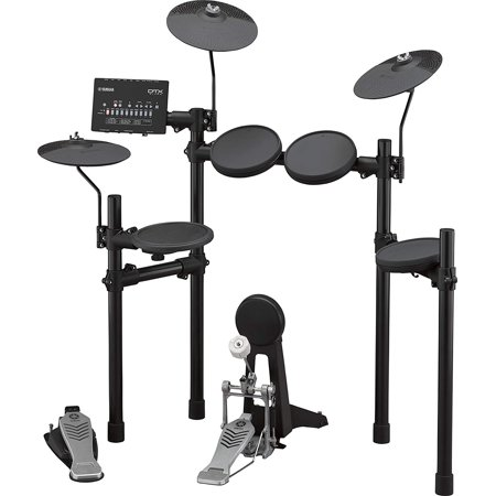 Yamaha DTX452K 5-piece Electronic Drum Kit Included Rubber Pads, 3 x Cymbals, and DTX402 Sound Module