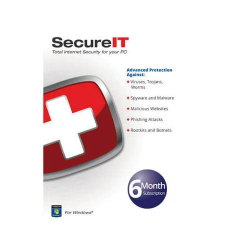 Security Coverage SECUREIT SecureIT Total Internet PC