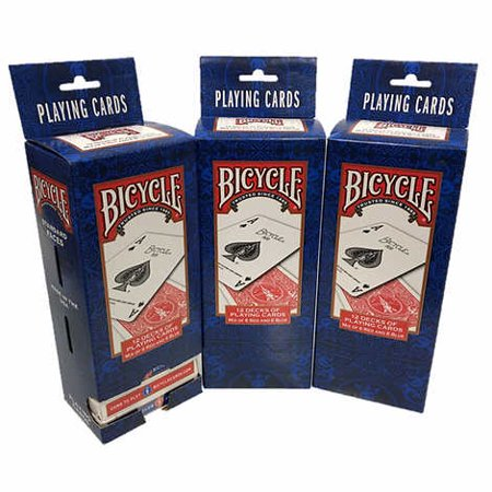 Playing Card Deck (Bicycle Standard Playing Cards 3-pack (36)