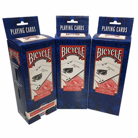 Bicycle Standard Playing Cards 3-pack (36 Decks)