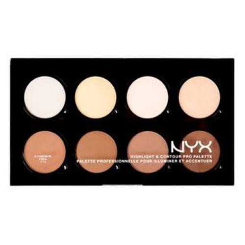 (3 Pack) NYX Hightlight & Contour Pro Palette