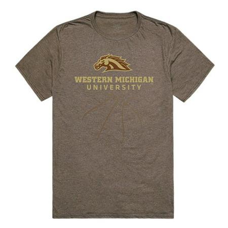 WMU Western Michigan University Broncos NCAA Basketball Tee T-Shirt