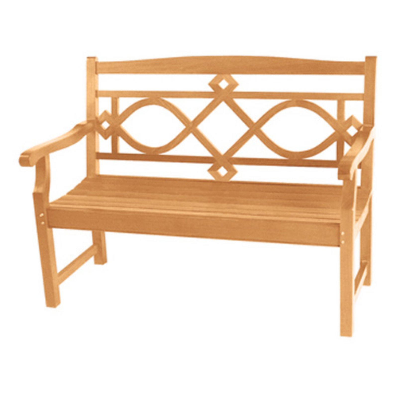 HiTeak Furniture Chelsea 47.2 in. Outdoor Bench