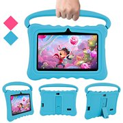 Android Kids Tablets PC, Veidoo 7 inch Kids Tablet with 1GB Ram 16GB Storage, Safety Eye Protection IPS Screen, Premium Parent Control Pre-Installed Educational APP, Best Gift for Children (Blue)