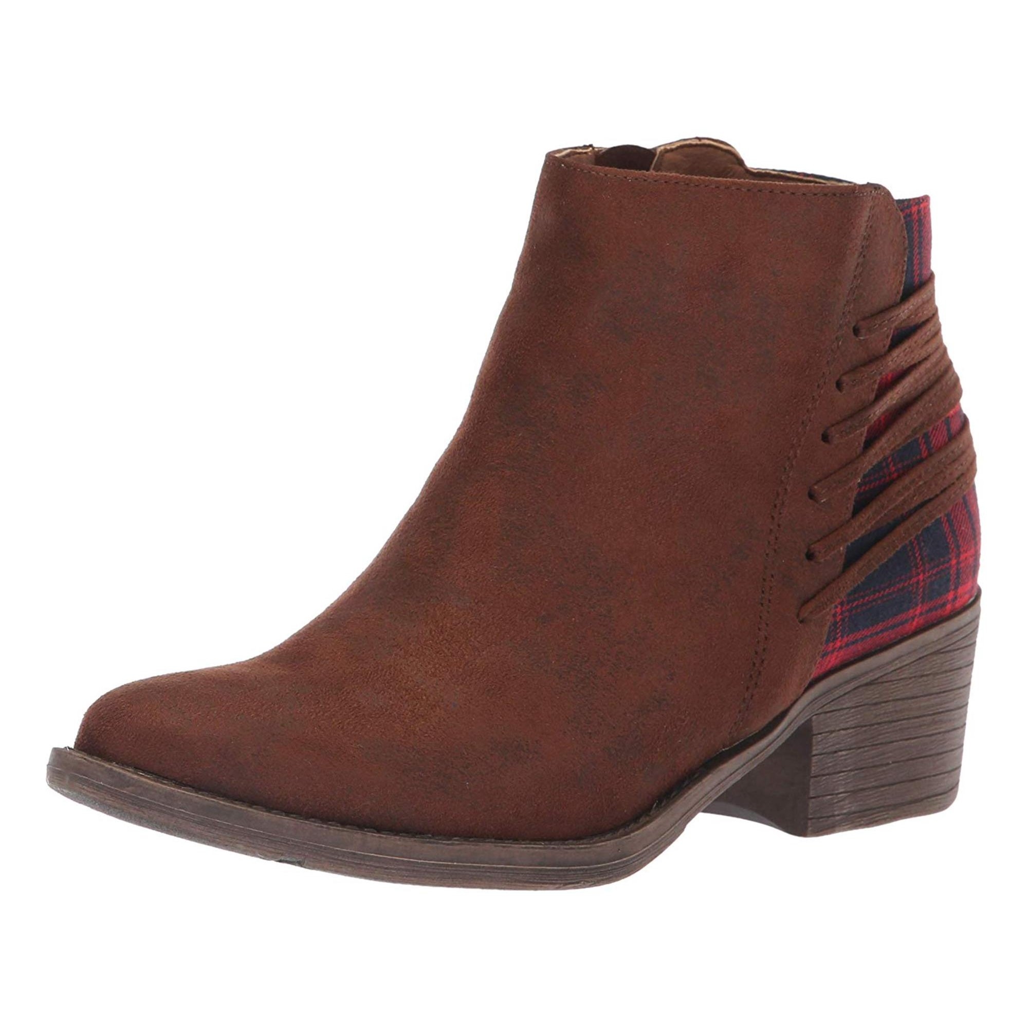 4bd125fafbe Volatile Womens Accolade Almond Toe Ankle Cowboy Boots