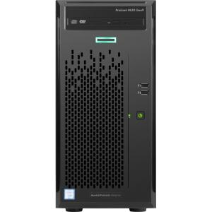 HP ProLiant ML10 G9 4U Micro Tower Server - 1 x Intel Pentium G4400 Dual-core (2 Core) 3.30 GHz - 4 GB Installed DDR4 SDRAM - Serial ATA/600 Controller - 0, 1, 5, 10 RAID Levels - 1 x 300 W - 1 P