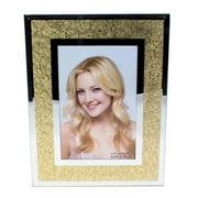 DecorFreak Mirror Finish Golden Photo Frame - 4 x 6 in.