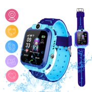 Kids Smart Watch Phone Watch Waterproof GPS Cell Phone Watch Anti-lost SOS Call Touch Screen Remote Camera Wrist Watch for Android iPhone Phone