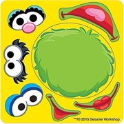 Sesame Street Make Your Own™ Stickers - Birthday and Theme Party Favors - 50 per Pack