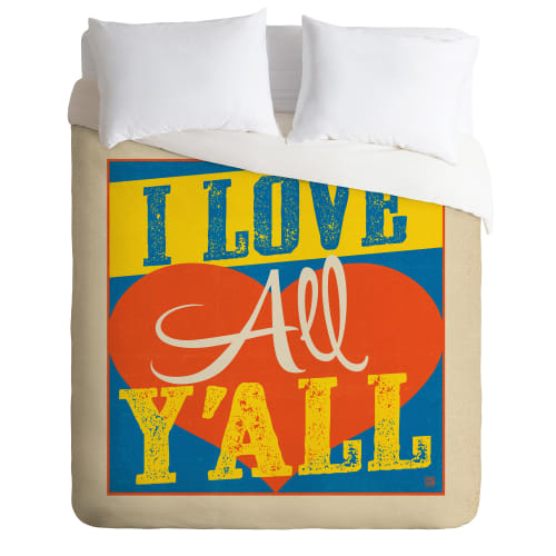 Deny Designs I Love All Yall Bedding Anderson Design Group Duvet Cover