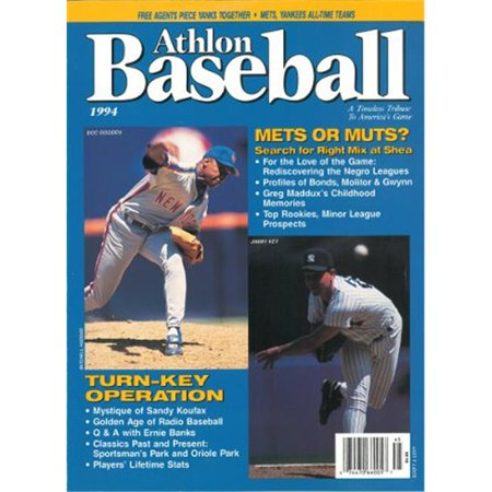 Athlon Ctbl K13270 Jimmy Key Unsigned New York Yankees Sports 1994 Mlb Baseball Preview Magazine With Gooden