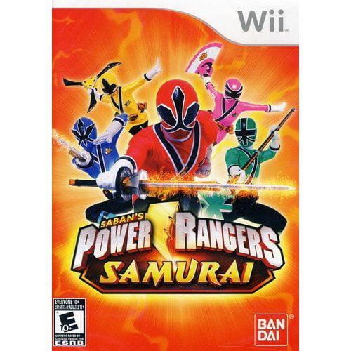 power rangers samurai wii walmart