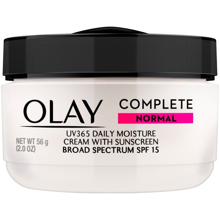 Olay Complete Cream Face Moisturizer with SPF 15 Normal, 2.0 oz