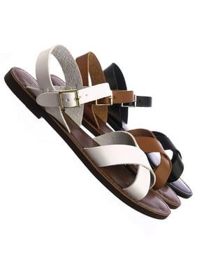 86a9a62cae5 SODA Womens Sandals   Flip-flops - Walmart.com