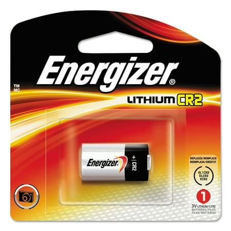 Energizer Lithium Photo Battery, CR2, 3V, 1