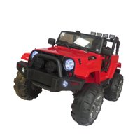 12V Kids Ride On Car SUV MP3 RC Remote Control LED Lights Red