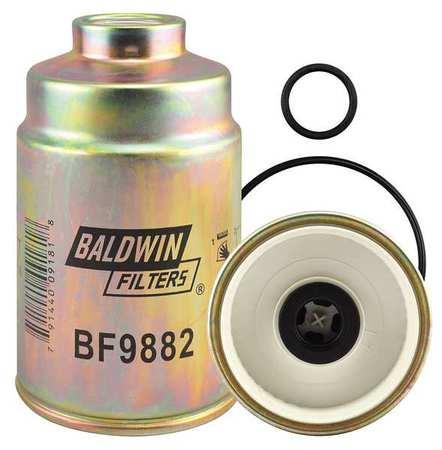 BALDWIN FILTERS BF9882 Fuel/Water Separator, 6-1/2 x 4-1/32 In