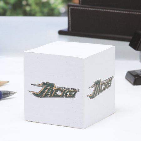 Humboldt State Jacks Paper Note Cube - No Size