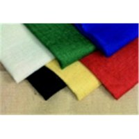 Sax Burlap Sheet, Assorted Colors, 18' L x 12' W (Pack of 6)
