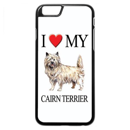 Cairn Terrier iPhone 5 Case (Cairn Terrier Silhouette)