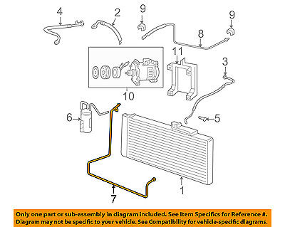 dodge chrysler oem 06 08 ram 1500 ac a c air conditioner liquid line 55056020af  dodge ac diagram #14