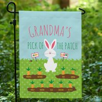 Personalized My Cute L'il Carrots Garden Flag