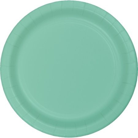Noritake Green Plate - Creative Converting Fresh Mint Green Paper Plates, 24 ct