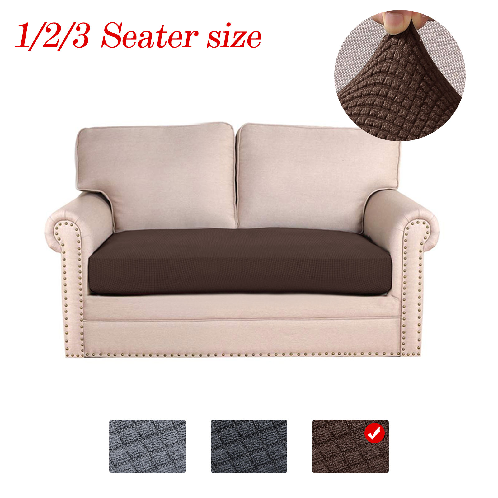 EEEKit Stretch Sofa Couch Cover, Water-repellent Non-Slip ...