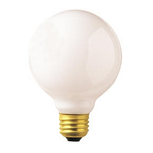 Bulbrite Industries 100W G25 Incandescent Medium Base Bulb (Set of 12)