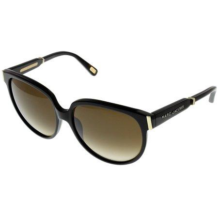 Marc Jacobs Sunglasses Womens MJ298/S 807CC Black Rectangular Size: Lens/ Bridge/ Temple: 58-16-135