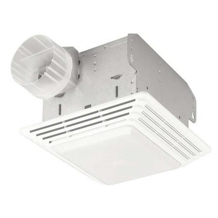 Broan 678 Bath Fan & Light Duo, 50 CFM
