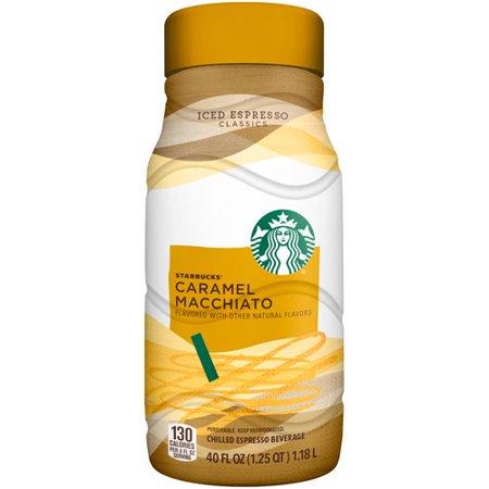 Starbucks, Caramel Macchiato Iced Espresso Classics, 40 Fl. Oz. by Starbucks