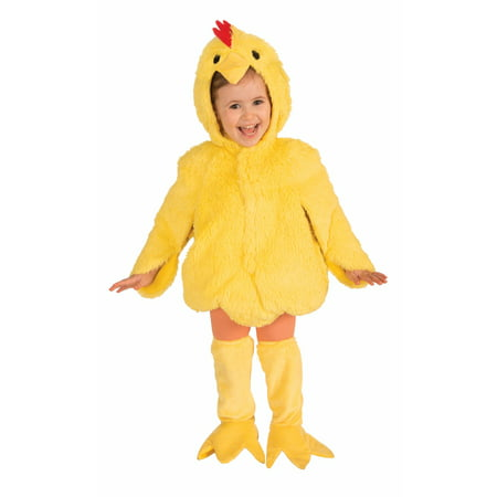 Toddler Plush Chicken Costume - Costume Chicken