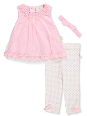 36529cc41e373 Product Image Duck Duck Goose Baby Girls' 2-Piece Leggings Set Outfit with  Headband