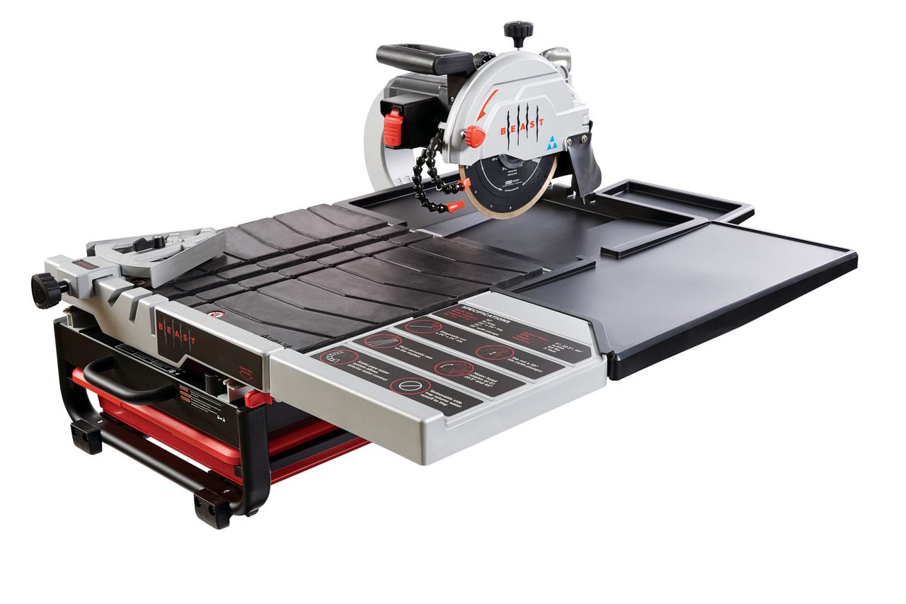 """Professional 15 Amp Wet Tile Saw, 10"""" by Lackmond Products, Inc."""